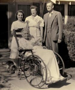 Granny Gardner - After Appendectomy - c1954