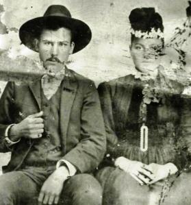 Wm. Arthur Davis and Florence Anna Arnold, c. 1892