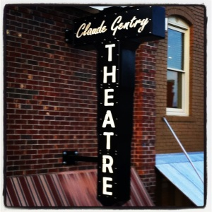 The Claude Gentry Theatre