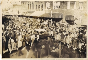 Baldwyn Christmas Parade 1950
