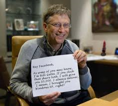 Fake Bill Gates Photo