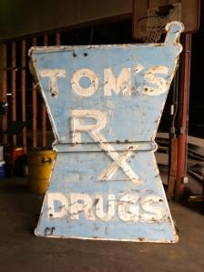 Tom's Neon Sign