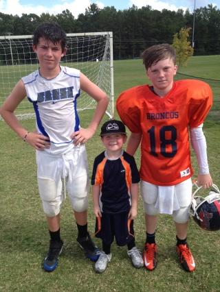 Three Broncos