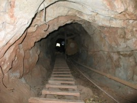 Doomsday Prepper Tunnel
