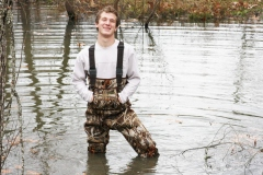 Gabe in Waders